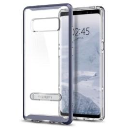 Spigen Galaxy Note 8 Case Crystal Hybrid Orchid Gray