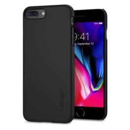 Spigen iPhone 7/8 Plus 5.5″ Thin Fit – Black_ 055CS22238