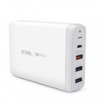 JCPal ELEX USB-C PD Multiport Desktop Charger/White(US)