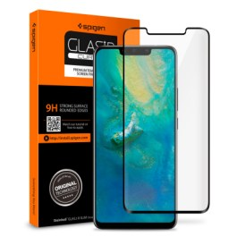 "Spigen HUAWEI Mate 20 Pro Glass ""Glas.tR Curved"" Black (1Pack) L34GL25408"