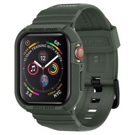 Spigen Apple Watch Series 4/5 (44mm) Case Rugged Armor Pro – Military Green 062CS26016