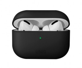 Uniq Lino Hybrid Liquid Silicon AirPods Pro Case – Ink Black