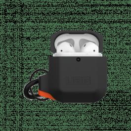 UAG AirPods 1/2 Silicone Case – Black/Orange