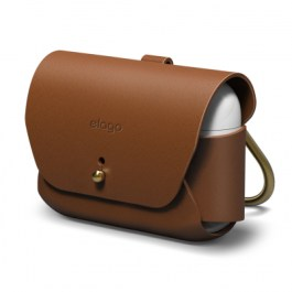 AirPods Pro Leather Case – Brown