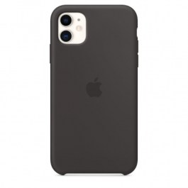 Apple Original iPhone 11 Silicone Case – Black
