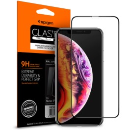 Spigen iPhone XR FC HD Black (1Pack) – 064GL25233