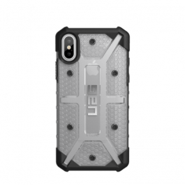 iPhone X (5.8 Screen) Plasma Case- Ice/Black/Silver Logo- Retail Package