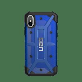 iPhone X (5.8 Screen) Plasma Case- Cobalt/Black/Silver Logo- Retail Package