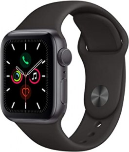 Series 5 40mm Space Gray Aluminum | Black Sport |