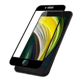 JCPal Preserver Super Hardness Glass for iPhone SE 2020 4.7″ – Black