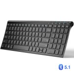 iClever BK10 Bluetooth Universal Ultra-Slim Keyboard