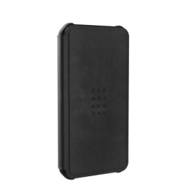 UAG iPhone 12/Pro 6.1 Metropolis – Leather Black