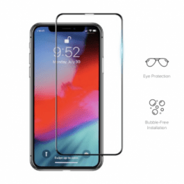 Preserver Anti-BlueLight Glass Screen Protector (0.26 mm , Black) for iPhoneXs 5.8