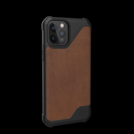 UAG iPhone 12/Pro 6.1 Metropolis LT – Leather Brown