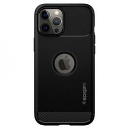 Spigen iPhone 12 Pro Max 6.7 Rugged Armor – Matte Black