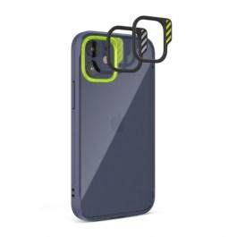 JTLEGEND iPhone 12/Pro 6.1 Hybrid Cushion DX Case – Navy Blue