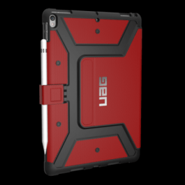 iPad Pro 10.5 Metropolis Case-Magma/Silver Logo/Black-Visual Packaging