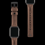 UAG Apple Watch 44/42mm Leather Strap – Brown