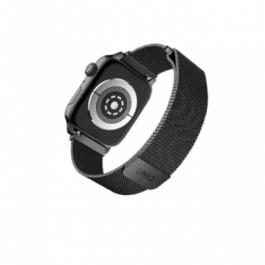 UNIQ DANTE S1/2/3/4/5 42/44mm – Midnight Black
