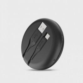 Uniq Halo USB-A to USB-C 1.2m – Midnight Black