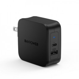 RAVPower RP-PC105 PD Pioneer 61W 2-Port – Black
