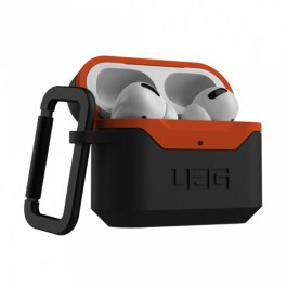 UAG AirPods Pro Hard Case V2 – Black/Orange