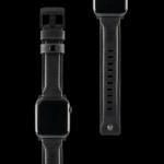 UAG Apple Watch 44/42mm Leather Strap – Black