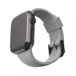 [U] Apple Watch 44/42mm DOT Silicone Strap – Grey
