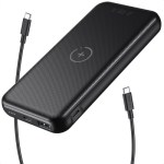 Choetech 10000mAh PD20W With 10W Wireless Charger – Black