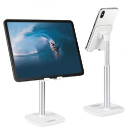 Choetech Adjustable Cell Phone & Tablet Stand on Desk, Stable Aluminum