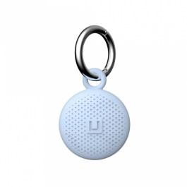 [ U ] Dot Keychain AirTag Case – Soft Blue