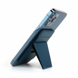 UNIQ LYFT MAGNETIC SNAP-ON STAND AND CARD HOLDER – Blue
