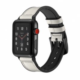 Hero Leather Band – White 42mm/44mm