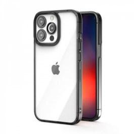 JTLEGEND iPhone 13 Pro Max 6.7 Hybrid Cushion Case – Crystal Black