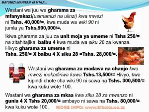 chicken management swahili 013 300x225 - Ufugaji wa kuku kwa njia ya kisasa