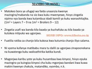 chicken management swahili 025 300x225 - Ufugaji wa kuku kwa njia ya kisasa