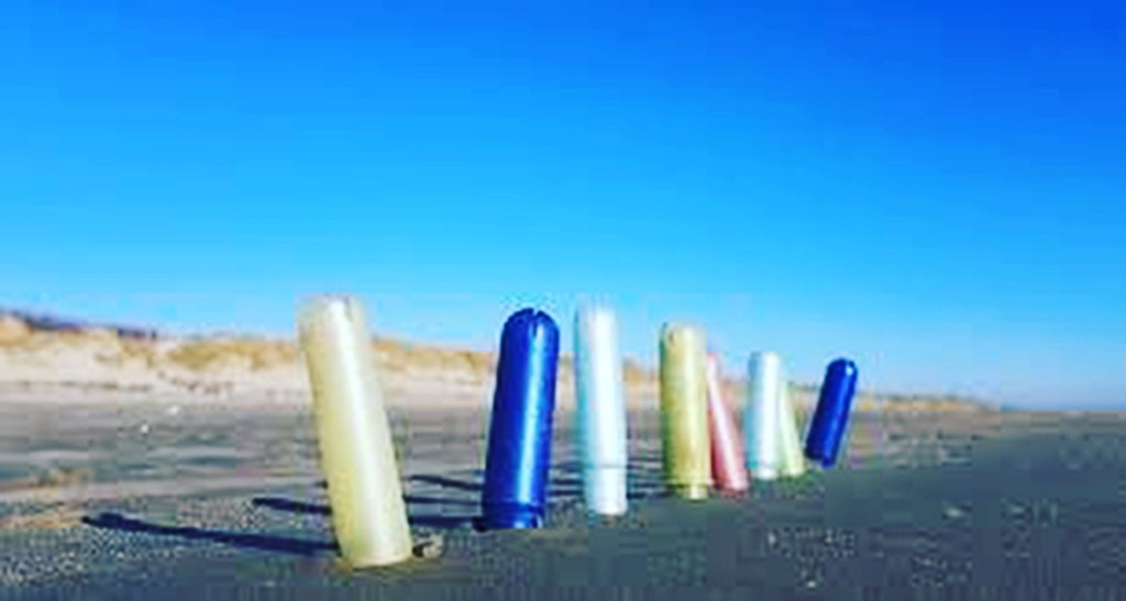 Tampon applicators get flushed down the toilets and end up polluting our beaches.
