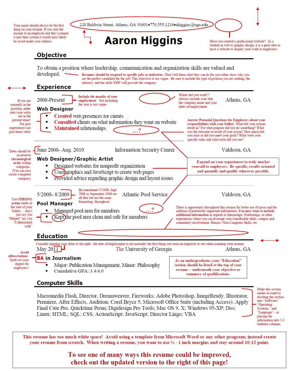 Quality Assurance Resume Objective. event planner resume example ...