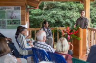 The UGA Ecolodge was one of the first businesses to obtain a sustainability certification in Costa Rica. Alberto Lopez Chaves, of the Costa Rican Tourism Institute, praises UGA Costa Rica's efforts to continue its efforts in sustainability.