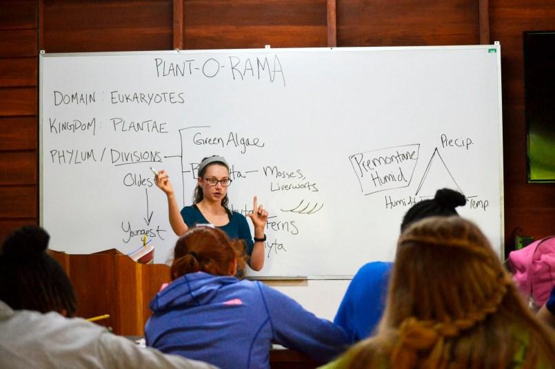 Resident naturalist Hannah Durick explains the ABCs of plant identification.