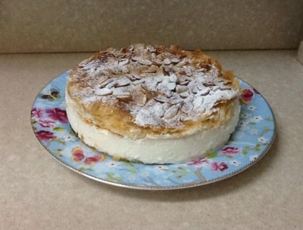 עוגת קרם וניל צרפתי (קרמשניט)