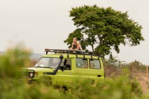 Queen Elizabeth National park game drive