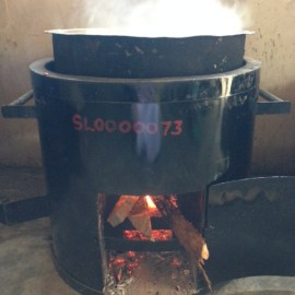 Institutional Portable Rocket Wood Stove