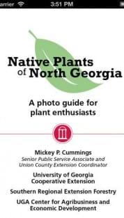 native plants of north georgia app now available rh ugaurbanag com