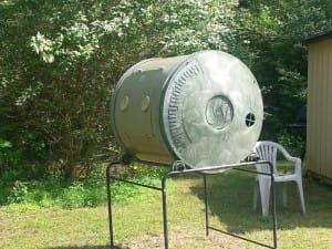 Compost Bin at Woodstock Community Garden