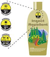 EPA Repellency label