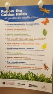 Ten Rules for Pesticide Use in Your Georgia Garden