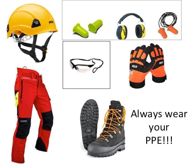 The Five Step Felling Plan - Step 2 - Gather Your Equipment