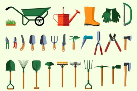 Tiny Topics Garden Tools