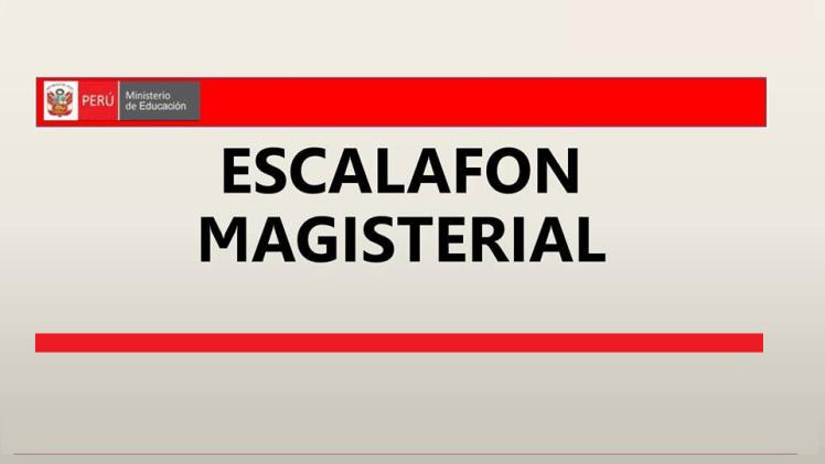escalafon